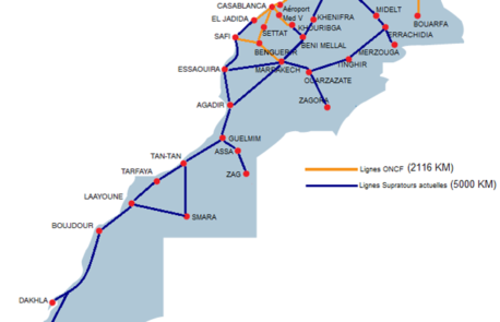 travel by bus in Morocco