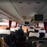 Purchase of train and bus tickets bus comfort seats
