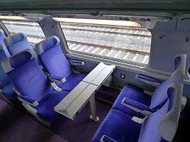 Morocco TGV seats